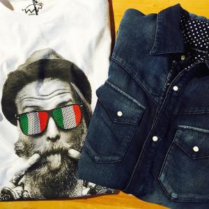 ワードローブに加えたいシャツxTシャツスタイル