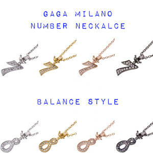 GaGa Milano | 新作ナンバーネックレス 予約販売に関して