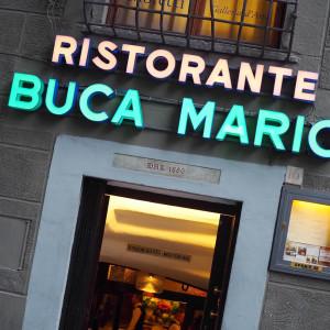 フィレンツェと言えばココ‼ 外せないレストラン「BUCA MARIO」