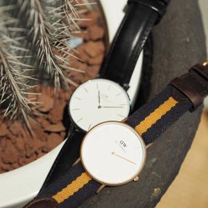 ベルトとデザインの違いで気分も変わる!ダニエルウェリントンの腕時計