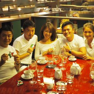 DSQAURED2の方たちと超有名なレストラン「CERESIO7」でディナー♪