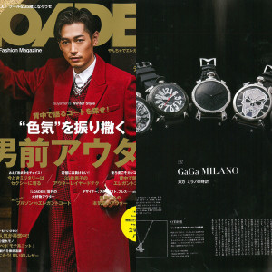LOADED Vol.29掲載 | GaGa Milano