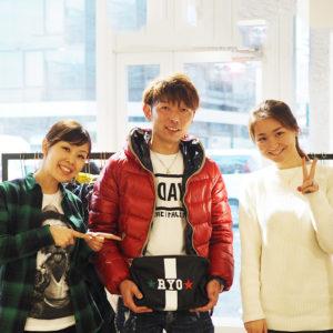 山口県から常連さんが1年ぶりに遊びに来てくれました!!