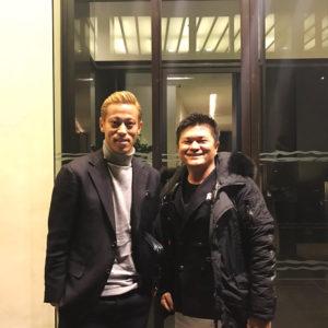 バイヤー高畠がミラノで会った人物とは!!ACミランの本田圭佑選手♡