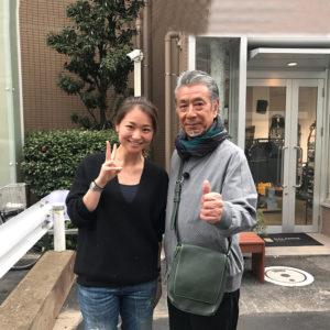 高田純次さんの「じゅん散歩」が北参道に!! なんとBALANCE RUNに取材が!