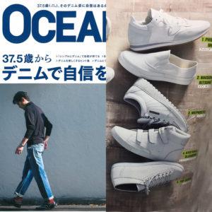 OCEANS 4月号掲載 PHILIPPE MODEL