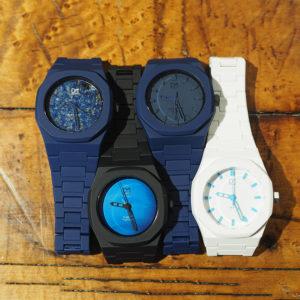 D1 Milanoの爽やかブルーの腕時計をコーデにプラス♡