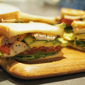 BALANCE cafe|サンドウィッチでピクニック気分♡
