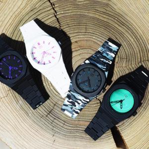 D1 Milanoの腕時計で爽やかにネオンカラーをプラス!