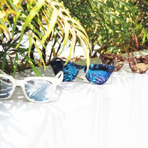暑い日こそ、Ross&Brownのシェルミラーサングラスでオシャレに!