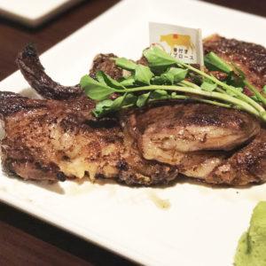大阪 ステーキハウス 听(ポンド)で極上ステーキを堪能!