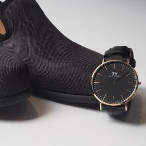 スーツも私服も使える!北欧発のDANIEL WELLINGTONの腕時計!