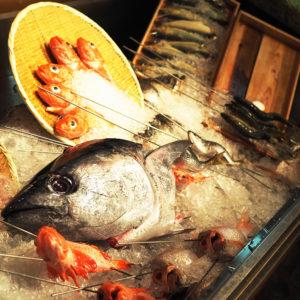 7月のお疲れ様会は夏祭り気分で「魚真」へ♪