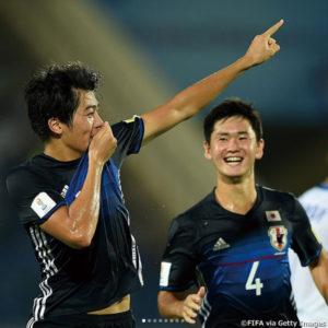 快勝スタートのU-17日本代表!強敵フランス代表との決戦へ!