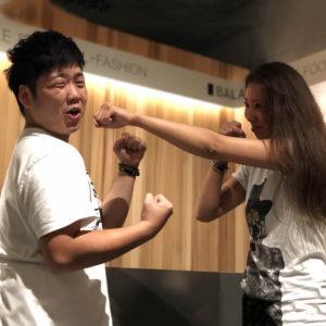 """ダイエットの秋!どっちが引き締められるか真剣勝負 """"岩城 vs 下川""""!"""