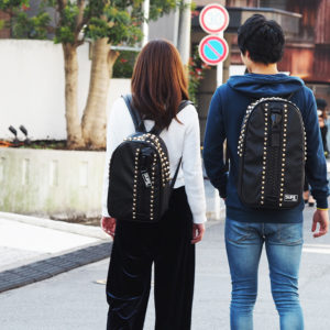 週末はSUPE designのMEGA ZIPバッグパックで仲良くお出かけ♪