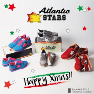 クリスマスシーズン到来!アトランティックスターズが彩る華やかな足元♡