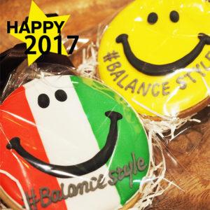今年も一年ありがとうございました!2018年もにこちゃんスマイルでHAPPYに♡