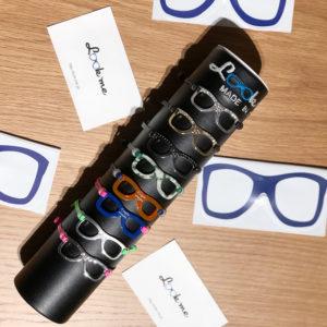 ルックミーのポップなメガネ型ブレスレットで腕元に遊び心を!!
