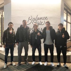 バランススタイル名古屋|名古屋グランパスの渋谷選手、櫛引選手、宮原選手がご来店!