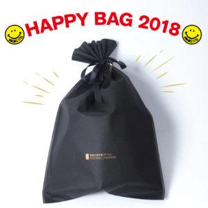 """大好評のバランススタイル初の""""HAPPY BAG""""手に入れるなら本日がラストチャンス!"""