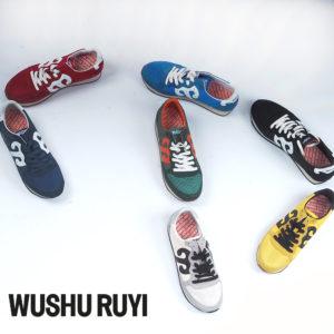見ても履いても楽しめる!WUSHU RUYIのスニーカーでボルテージUP!!