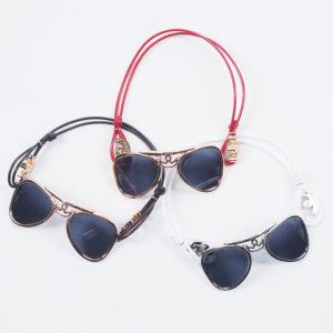 【新登場】ガガミラノ新作アイテムは、遊び心満載のサングラスブレス!