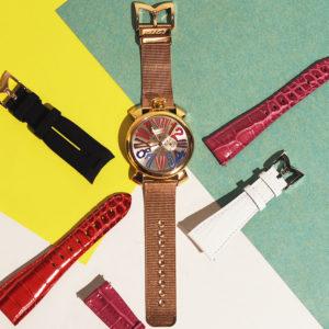 ガガミラノのベルトをCHANGE!愛用時計に新しい雰囲気を♡