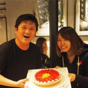 スタッフ大集合!2月のお誕生日会がGOOD MORNING CAFEで開かれました!