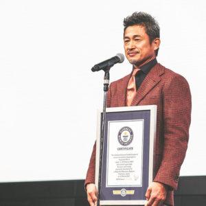 キングカズこと三浦知良選手が、世界最年長ゴールでギネス認定されました!!