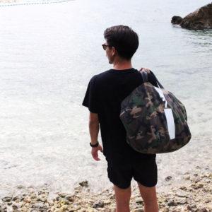 ルンルン気分でお出かけ♪ 大容量のMia Bagのカモフラショッパー!