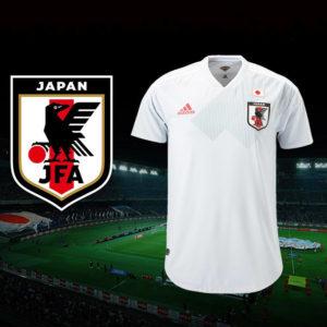 サッカー日本代表がロシアワールドカップに向けてのアウェイユニフォームを発表!コンセプトは「光り輝く未来」!!