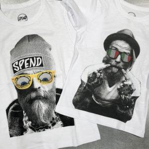 キャッチーなデザインが大人気!春はスペンドのTシャツで家族揃ってお出かけ!