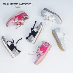 【新入荷】春は華やかにグリッターで足元を演出♡PHILIPPE MODELのレディースモデル
