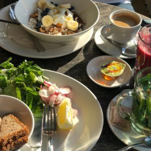 アムステルダムで見つけた、素敵な朝食。@Café de Jaren