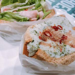野菜たっぷりのサンドウィッチ専門店「ポタスタ 千駄ヶ谷店」でTo Go ランチ!