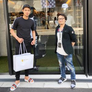 セレッソ大阪所属の杉本健勇選選手がご来店!BALR.の新作モデルをGETして頂きました!!