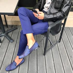 夏のおしゃれスタイル!DUKE + DEXTERのブルー迷彩スリッポンでCOOLな足元に!
