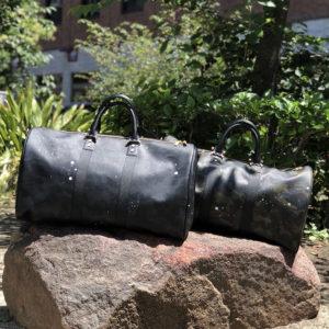 遠出に便利な必須アイテム!Gentil Banditの大容量のボストンバッグ!