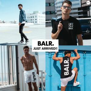 BALR.|2018SSコレクション&定番モデルが全店舗にて発売開始!