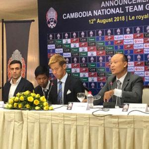 本田圭佑選手が、カンボジア代表の監督に就任する事を発表!!