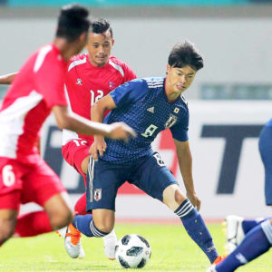 第18回アジア競技大会で好スタートのU-21日本代表!本日パキスタン代表と対戦!!