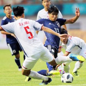 U-21日本代表が予選を2位通過!次戦はU-23マレーシア代表と対戦!!