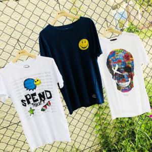POPでキュートなデザインTシャツで、残りの夏もENJOY!!