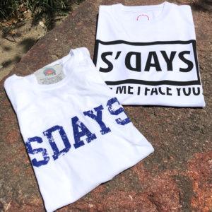 ヘビロテ間違いなし!夏を最後まで楽しめるS'DAYSのロゴTシャツ!