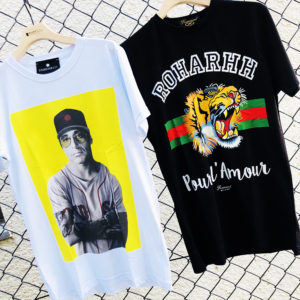 Tシャツ×パーカー!重ね着で楽しむならインパクトTEEで決まり!