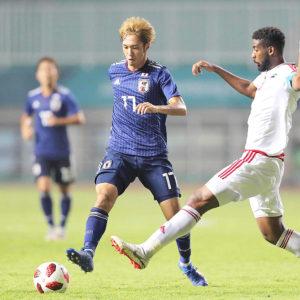 第18回アジア競技大会決勝|U-21日本代表 vs U-23韓国代表