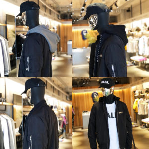"BALR.|注目の最新作 ""DOUBLE HOODED BOMBER JACKET""に迫る!!"