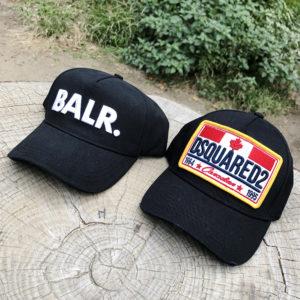 どっちを選ぶ?サッカー選手に愛されるBALR.とDSQUARED2のロゴキャップ!