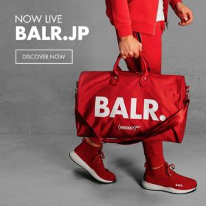【お知らせ】BALR.(ボーラー)公式オンラインストア オープン